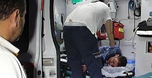 Arıza Çıkaran Yaralı Kelepçeyle Götürüldü