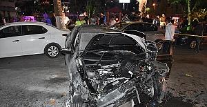 Otomobil Bisiklete Çarptı 3 Yaralı