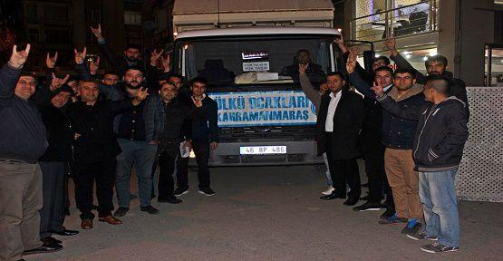 Türkmenler İçin Toplanan Yardım Yolda