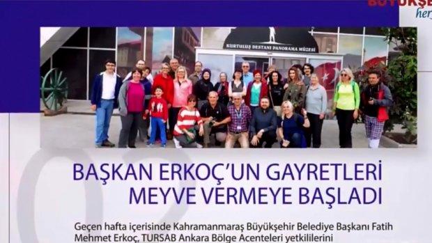Kahramanmaraş Büyükşehir Belediyesinin Çalışmaları